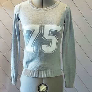 Garage Size XS Gray Sweater